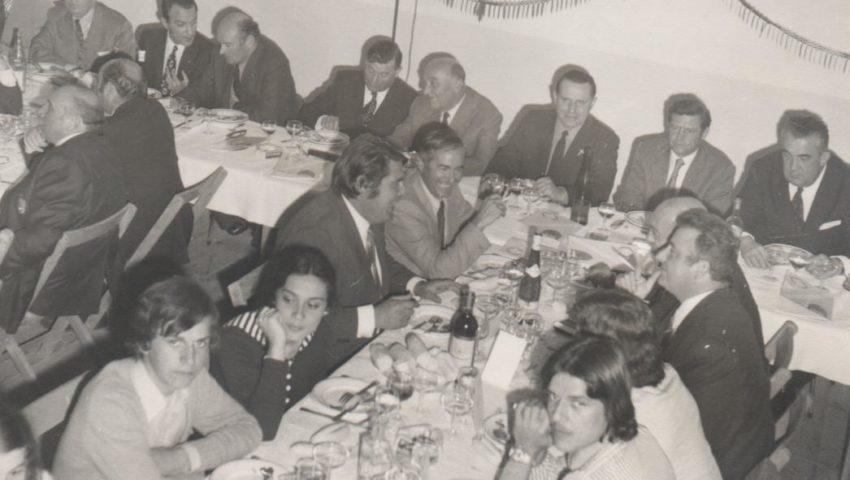 1974 repas des anciens